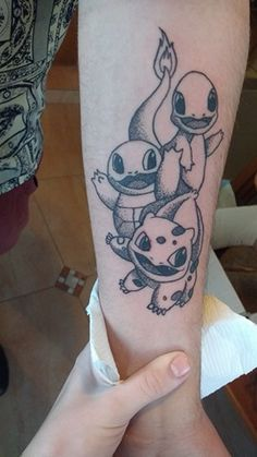 I tattoed my favorite video-game franchise! This is an OC work made by my friend who also tattoed it!