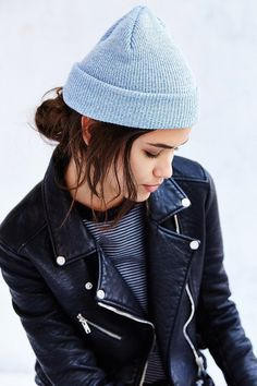Get cozy in this warm beanie hat in a soft rib-knit finish. Perfectly cuffed  at the edge 0d2400f863a0