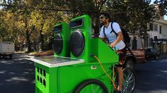 the music bicycle!!!