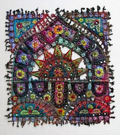 Art In Stitches: New Work and a three day trip!