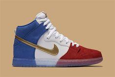 Flagge zeigen mit dem Nike SB Dunk High