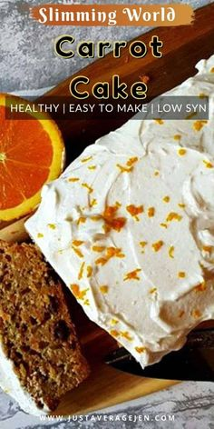 Slimming World Carrot Cake, Slimming World Desserts, Slimming World Diet, Quark Recipes, Cake Recipes, Syn Free Food, Following A Recipe, Thing 1, Home Baking