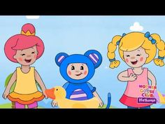 ▶ Swimming - Mother Goose Club Nursery Rhymes - YouTube