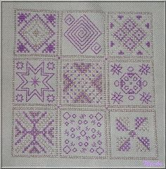 Graphic Sampler | Nicki's Kreativseite Cross Stitching, Quilts, Blanket, Pattern, Comforters, Quilt Sets, Kilts, Rug, Blankets