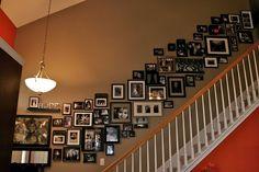 Black & White House Frames