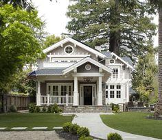 Grey, black and white exterior inspiration (via The Design Co.).