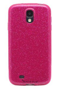 Amazon.com: Diztronic Pink GlitterFlex TPU Case for Samsung Galaxy S4 - Retail Packaging: Cell Phones & Accessories