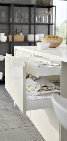 VOXTORP ladefront wit | #IKEA #IKEAnl #eten #diner #koken