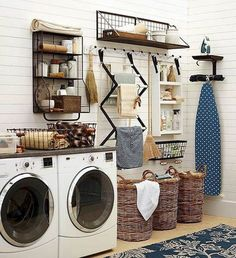Cool 60 Eclectic laundry Room Design Ideas Remodel https://roomadness.com/2017/09/14/60-inspiring-eclectic-laundry-room-design-ideas/