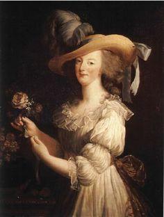 Marie Antoinette - Vigée le Brun ~Via Twinckel Fée des Neiges
