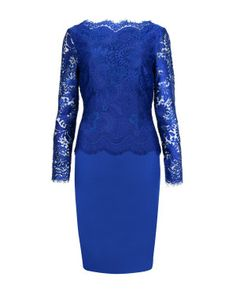 Lace fitted dress #TedBaker