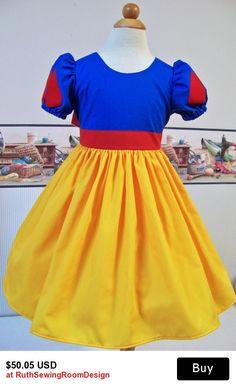 Snow White Costum Custom Children sizes 12m/18m - Girl size 12 Pretend, Dress up