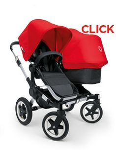 Dream double stroller...The Bugaboo Donkey.