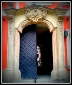 gate in Main Square (Krakow - Poland)