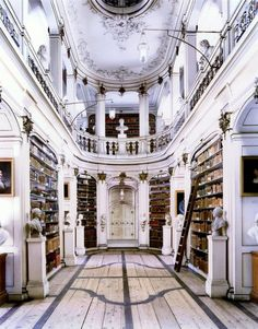 Library of the Duchess Anna Amalia, Weimar, Germany.  this has become a must for me to see