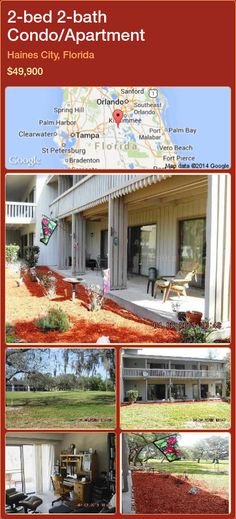 2-bed 2-bath Condo/Apartment in Haines City, Florida ►$49,900 #PropertyForSaleFlorida http://florida-magic.com/properties/54376-condo-apartment-for-sale-in-haines-city-florida-with-2-bedroom-2-bathroom