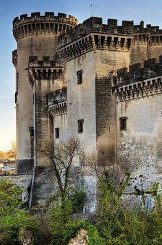 Castillo de Tarascon, en el sur de Francia. .: