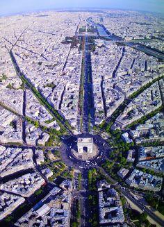 L'Arc de la Triomphe, Etoile ~ Paris