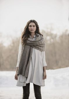 Ravelry: Endless Wrap No. 201611 pattern by Sylvia Hager