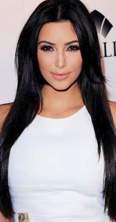 ¸.•`♥¸.•`♥Kim's Dark Hair