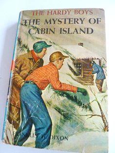 1959 Hardy Boys Mystery of Cabin Island  No by BonniesVintageAttic, $10.00