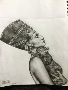 Nefertiti by mariannefredericks