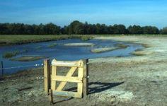Het Blote Voeten Pad ('t Blôde Fuottenpaad) ligt op de grens tussen Groningen en Friesland. Bezoekers kunnen er hun schoenen uittrekken en het bijzondere pad volgen.