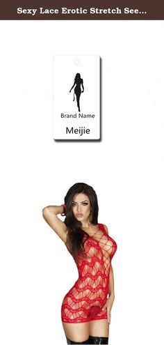 Sexy Lace Erotic Stretch See Through Babydoll Lingerie Set for Women (Red11). Meijie is a registered brand,You may find similar design with our product, please be aware quality is totally different. 1.One size.US Size S to M 2.Package:1x Sexy Lingerie 3.material: Nylon and Spandex High quality very stretch and comfortable to wear,won't feel tight. Make you attractive to your lover and spicing up your sex life,Sure to give your dear or husband a big pleasing surprise 4.summer transparent…