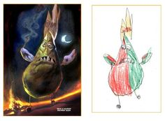 Dave Devries takes sketches of monsters drawn by children purely from their imagination and renders them realistically. So cool!