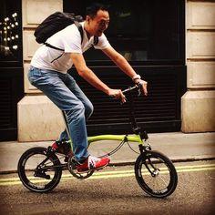 Joseph Kuosack 349 carbon wheels. BWC 2015 JK Team. #josephkuosac #bwc2015 #brompton #bikegang