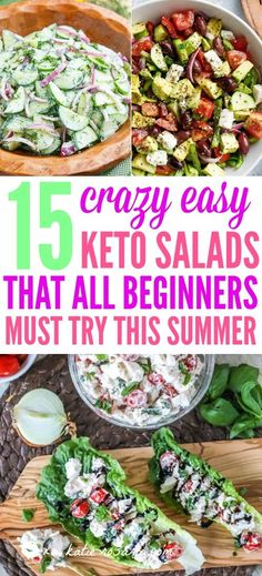 Are you summer bod ready? In the hot summer months, the best way to stick to your Ketogenic diet is with these light and refreshing Keto Summer Salads! Here's 15 Ketogenic Summer Salad recipes that…More 12 Indulgent Keto Diet Friendly Salad Recipes Keto Foods, Ketogenic Recipes, Ketogenic Diet, Diet Recipes, Healthy Recipes, Keto Meal, Dessert Recipes, Ketogenic Salads, Pork Recipes