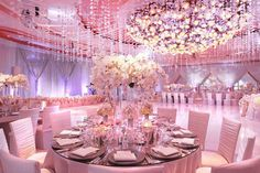 A Fantasy Wedding Reception by Kevin Lee