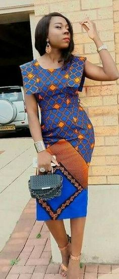 Modern And Trendy Ankara Styles Latest African Fashion Dresses, African Dresses For Women, African Print Dresses, African Print Fashion, Africa Fashion, African Attire, African Wear, African Inspired Fashion, African Women