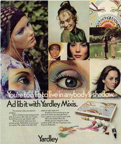 Vintage Makeup Ads, 60s Makeup, Vintage Beauty, Vintage Ads, Vintage Fashion, 1960s Fashion, Justin Bieber Facts, Top Les, Beauty Ad