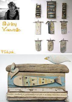 Shirley Vauvelle . Quirky Sculptures   Fishinkblog's Blog