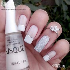 70 Eye-Catching and Fashion Acrylic Nails, Matte Nails, Glitter Nails Design You Should Try in Prom and Wedding that can help you out. We hope you like this collection. Cute Acrylic Nails, Glitter Nails, Cute Nails, Pretty Nails, Diy Beauty Nails, Diy Nails, Nail Deco, Diy Nail Designs, Diy Design