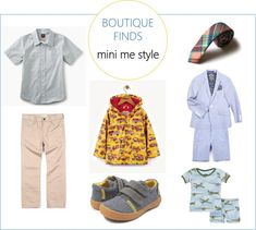 Boutique Finds: Mini Me Style and a #giveaway #toddlerstyle #boystyle