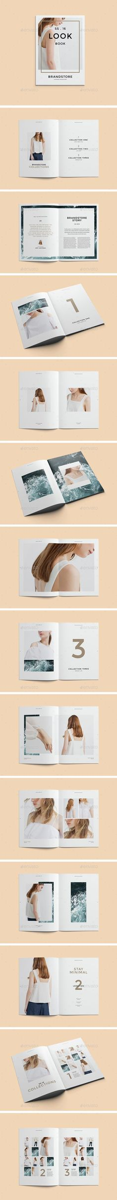 Fashion Lookbook  — InDesign Template #jewelry lookbook #fashion boutique • Download ➝ https://graphicriver.net/item/fashion-lookbook/15042234?ref=pxcr