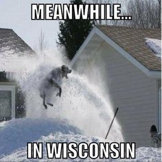 in Wisconsin Wisconsin Funny, Wisconsin Weather, Milwaukee Wisconsin, Meanwhile In, Green Bay, Niagara Falls, The Funny, Places To Visit, Funny Pictures