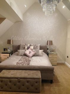 Glitter Wallpaper Grade 3 in Home, Furniture & DIY, DIY Materials, Wallpaper & Accessories | eBay!