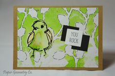 Cute greeting card from Paper Geometry Co. to see more like this visit www.papergeometryco.etsy.com