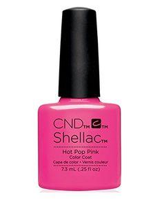 CND Shellac Garden Muse Summer 2015 Collection (0.25 fl.oz.)_Hot Pop Pink - C40519 *** For more information, visit image link.