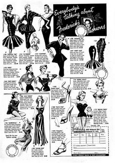 Frederick's of Hollywood ad