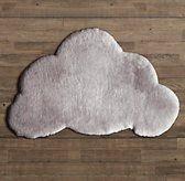 Sheepskin Cloud Wool Rug - kids bath