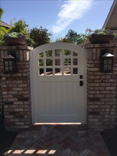 Garden Passages builds high quality Custom Wood Gates designed to enhance the look, feel and value of your home. Wood Gates, Outdoor Spaces, Outdoor Decor, Entry Gates, Backyard Fences, Terraces, Garden Gates, Craftsman Style, Custom Wood