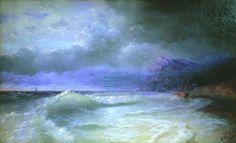 Ivan Aivazovsky. Wave. 1895