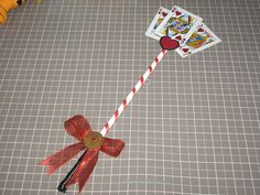 A Penny for My Thoughts: {DIY} Queen of Hearts Scepter