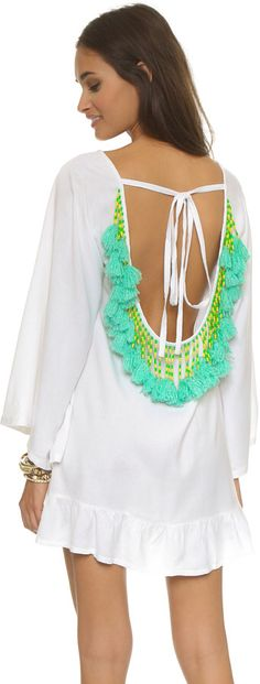 The cutest beachwear and swimsuit cover-ups! Bohemian Mode, Boho Chic, Gypsy Style, My Style, Style Blog, Short Beach Dresses, Look Fashion, Womens Fashion, Summer Outfits