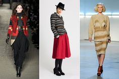 Fall 2012 Fashion: Blanket Stripes- graphic, rich, and very very warm. Easy to find at thrift stores!