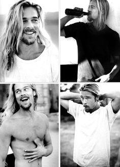 Brad Pitt, 1994.
